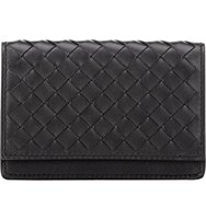Bottega Veneta Mens Intrecciato Gusseted Card Case