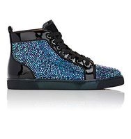 Christian Louboutin Mens Louis Flat Sneakers