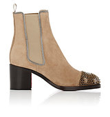 Christian Louboutin Otaboo Suede Chelsea Boots