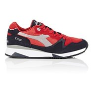 Diadora Mens V7000 Suede Leather Sneakers
