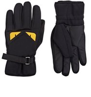 Fendi Mens Buggies Ski Gloves