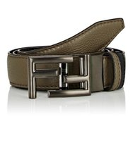 Fendi Mens Reversible Leather Belt
