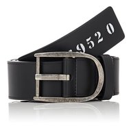 Givenchy Mens Bordered Leather Belt