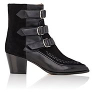 Isabel Marant Dickey Suede Leather Ankle Boots