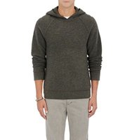 James Perse Mens Cashmere Thermal Hoodie