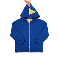 Siaomimi Mens Dinosaur Cotton French Terry Hoodie