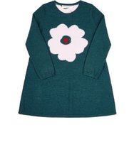 Sonia Rykiel Flower Intarsia Sweater Dress