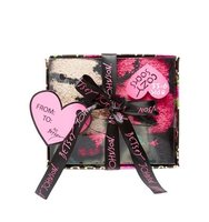 Betsey Johnson 3 Pack Sweet And Wild Cozy Sock Gift Box Multi