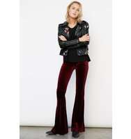 Blank NYC Pant in Burgundy Lush