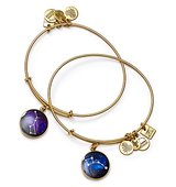 Alex and Ani Big and Little Dipper Expandable Wire Bangles Set of 2