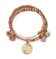 Alex and Ani Cheers Color Infusion Expandable Wire Bangles Set of 3