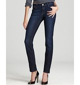 DL1961 Coco Curvy Straight Jeans in Solo