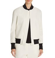 Dkny Color Block Bomber Jacket