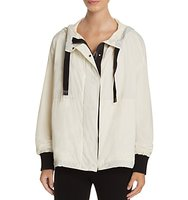 Dkny Color Block Hooded Jacket