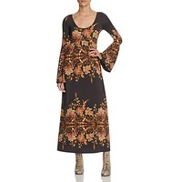 Free People Midnight Garden Midi Dress