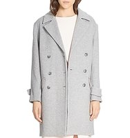 Halston Heritage Double Breasted Coat