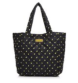 Marc By Marc Jacobs Crosby Quilted Nylon Fruit Print Tote