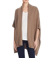 Minnie Rose Poncho Style Cashmere Cardigan