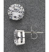 Nadri Large Stud Earrings