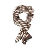 DIBI SC14 16 Brown Code Scarf
