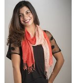 Elizabeth Koh Red Ombre Scarf