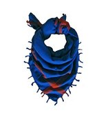 The Artizant Puerto Rican Blue Scarf
