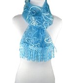 pr by pr cashmere Glam Collection BUTTERFLY LACE SCARF