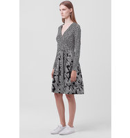Diane von Furstenberg DVF Jewel Two Wrap Dress