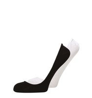 Dorothy Perkins Black and White 2 Per Pack Footsie