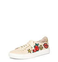 Dorothy Perkins Blush Clarissa Badge Trainers