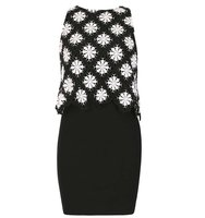 Dorothy Perkins Izabel London Monochrome Bodycon Dress