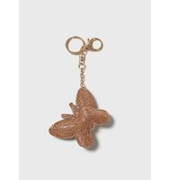 Dorothy Perkins Peach Butterfly Keyring