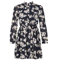 Dorothy Perkins Tenki Blue Floral Shirt Dress