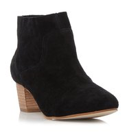 Allday Sm Suede Western Ankle Boot