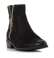 Chance Sm Zip Detail Ankle Boot