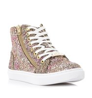 Earnst G Sm Glitter High Top Trainer