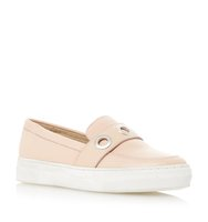 Ellena Metal Eyelet Slip On Trainer