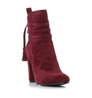 Glorria Sm Wrap Detail High Heel Ankle Boot
