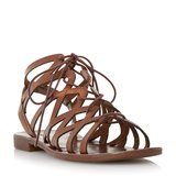 Louella Lace Up Leather Gladiator Sandal