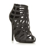 Marquee Sm Caged Glitter High Heel Sandal