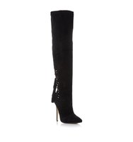 Norland Sm Tassel Detail Over The Knee Boot