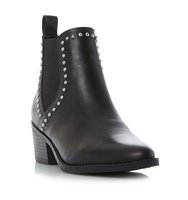 Talor D Sm Pin Stud Chelsea Ankle Boot