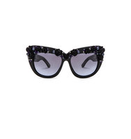 A Morir Billy Sunglasses in Black Floral