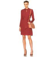 APC Meredith Dress in Red