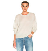 Isabel Marant Etoile Clifton Mohair Sweater in Neutrals