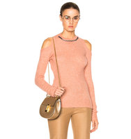 No 21 Embellished Sweater in Pink