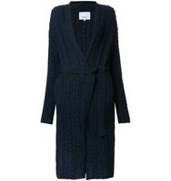 08sircus Cable Knit Gown Length Cardigan