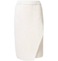 08sircus Diagonal Cut Pencil Skirt