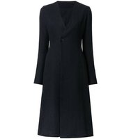 08sircus Single Button Flared Coat
