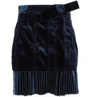 31 Phillip Lim Pleated Hem Mini Skirt
